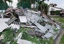 illegal asbestos dumped AMAA